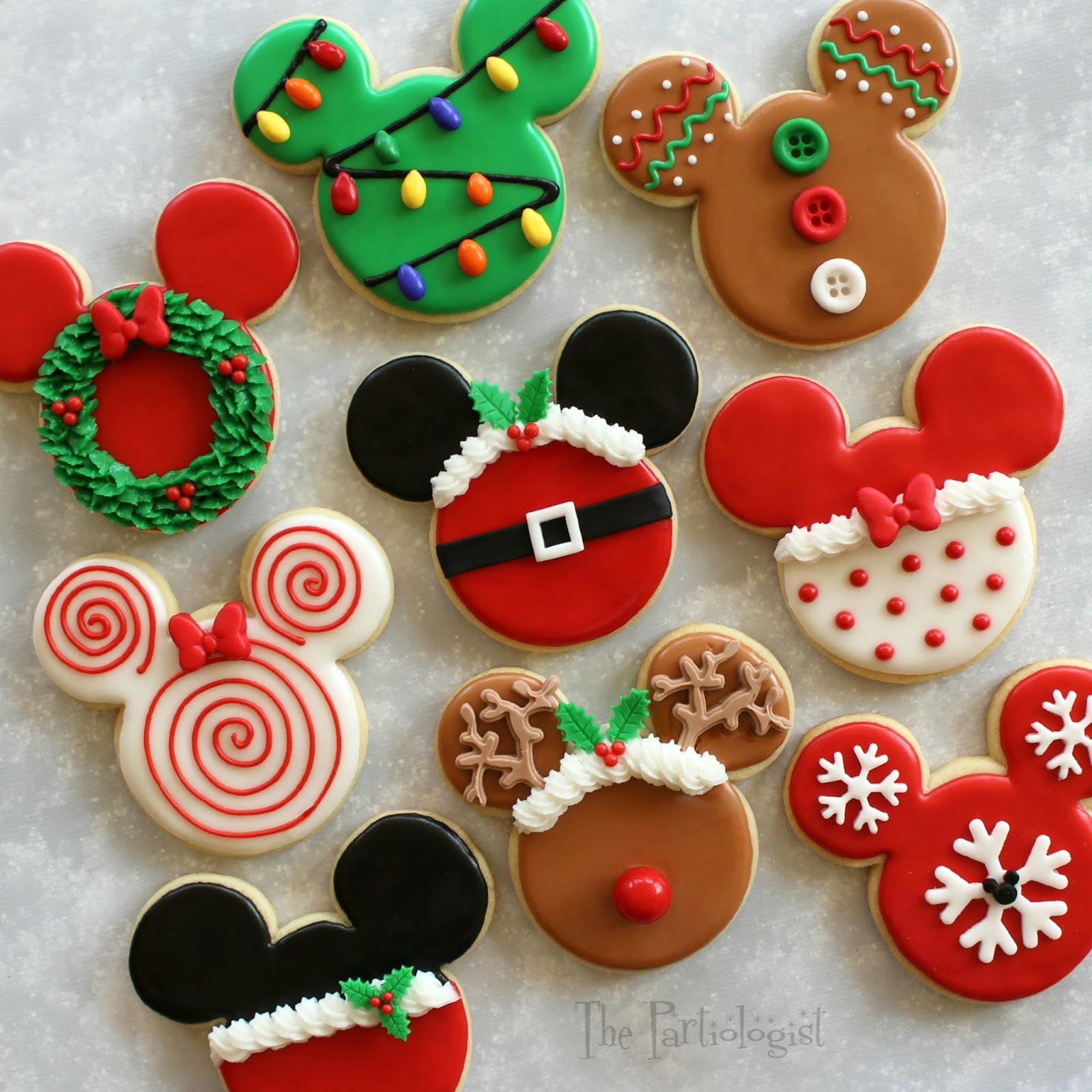 Best The Partiologist Disney Themed Christmas Cookies This Month