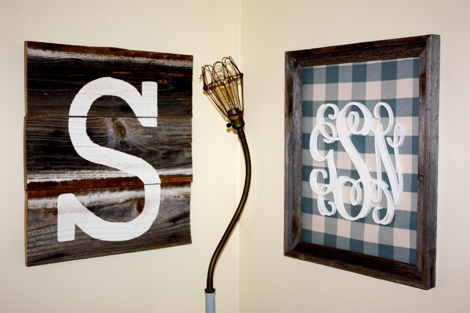 Best Monogram Wall Decor… How To Life In High Cotton This Month