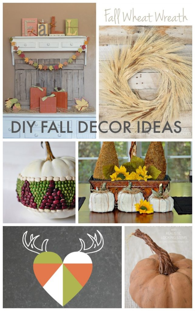 Best Diy Fall Decor Ideas Link Party Features Taryn Whiteaker This Month