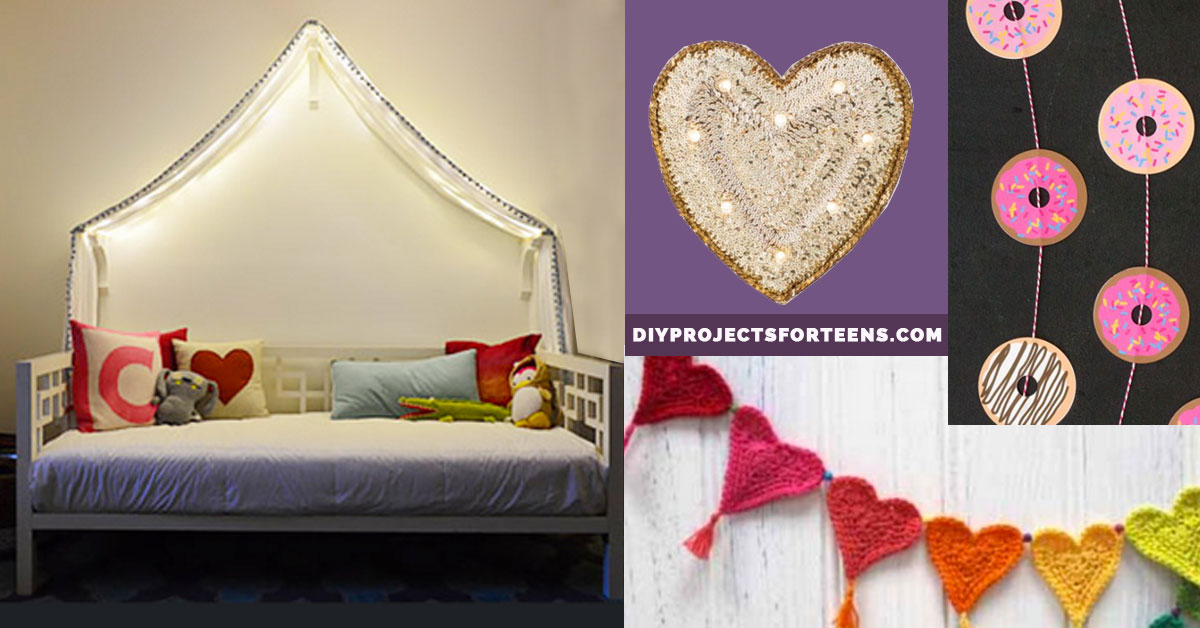 Best 37 Insanely Cute T**N Bedroom Ideas For Diy Decor Crafts This Month