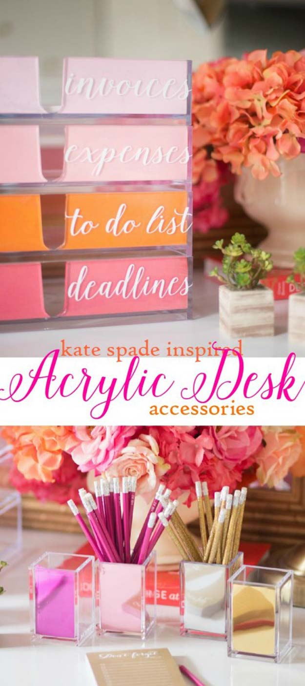 Best 40 Fun Diys For Your Desk This Month