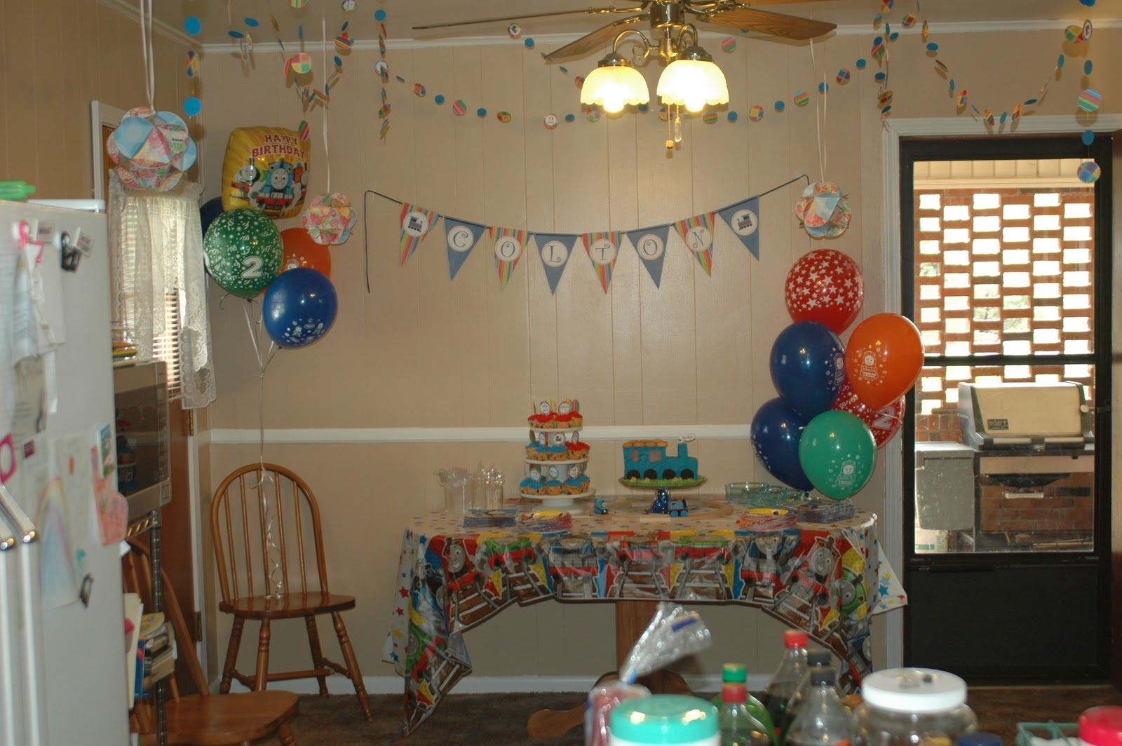 Best Mason Bunch Train Themed Birthday Party This Month