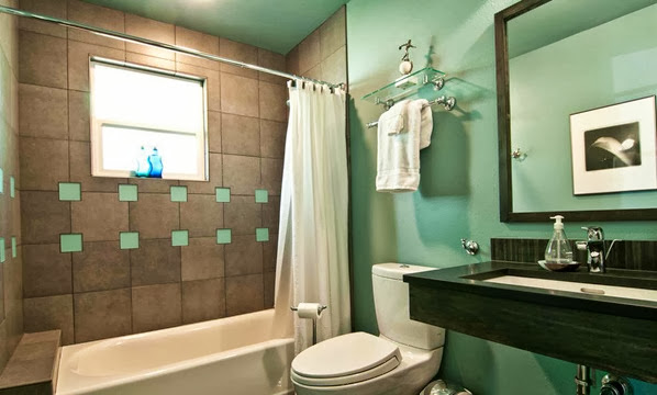 Best Cool And Elegant Turquoise Bathroom Design Ideas Pictures This Month