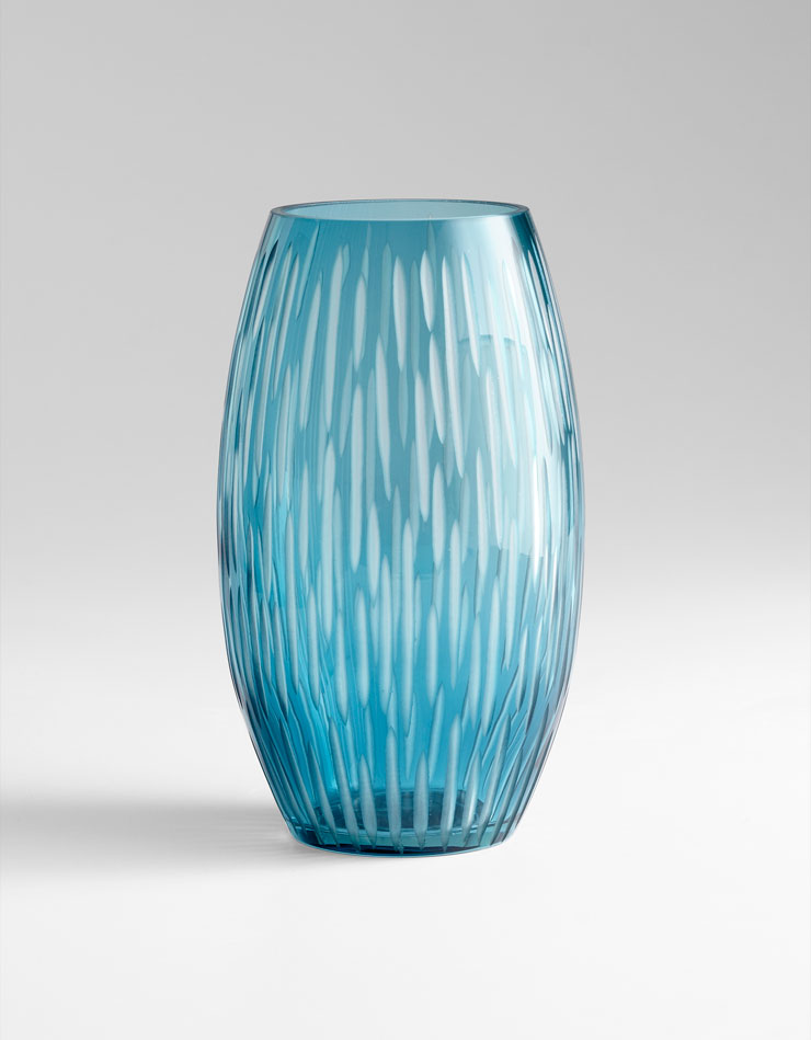Best Large Klein Blue Glass Vase By Cyan Design This Month