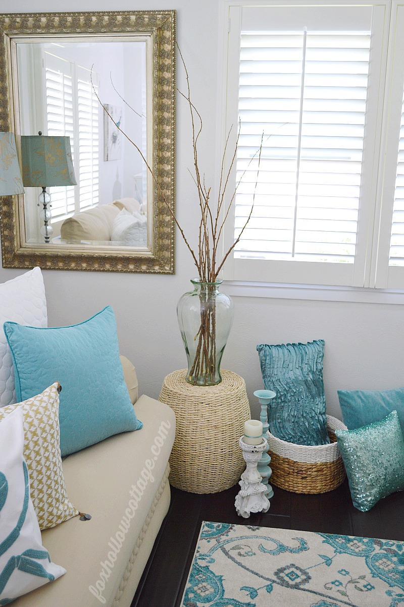 Best Coastal Cottage Summer Living Room Fox Hollow Cottage This Month