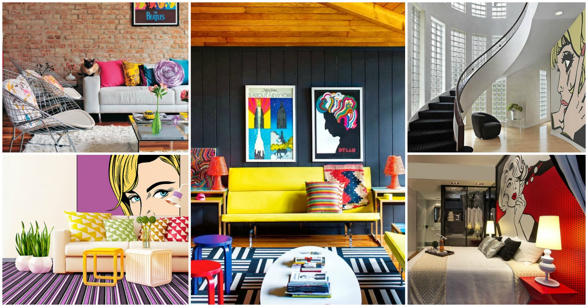 Best Fabulous Collection Of Pop Art Interior That Will Catch This Month