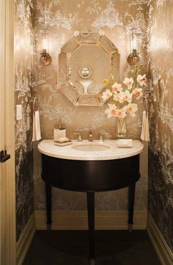 Best Stylish Powder Room Decor Ideas For A Greater Enjoyment This Month