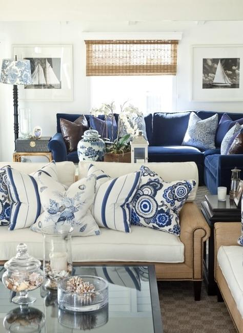 Best Modern Interior Decorating With Blue Stripes And Nautical This Month