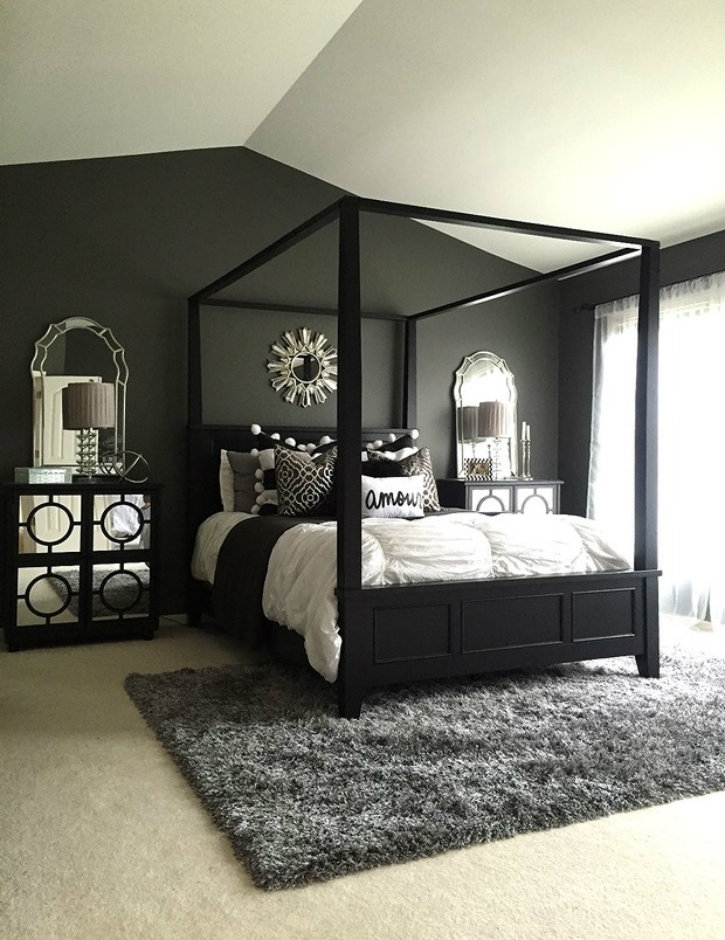 Best Feel Dark With These Black Décor Ideas To Your Master Bedroom This Month