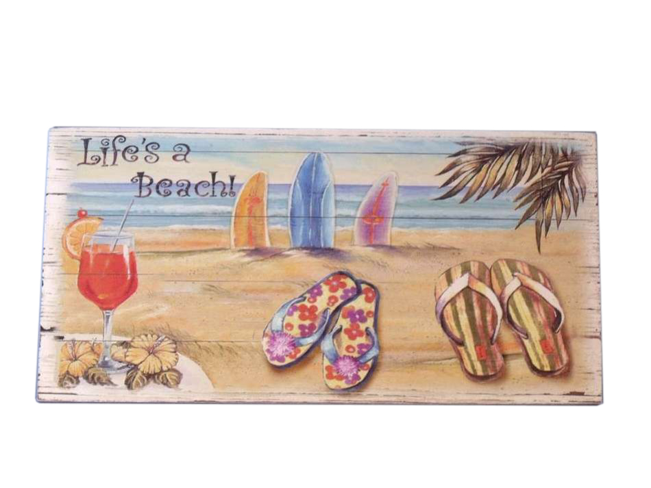 Best Wholesale Wooden Life S A Beach Sign 14 Model Ship This Month
