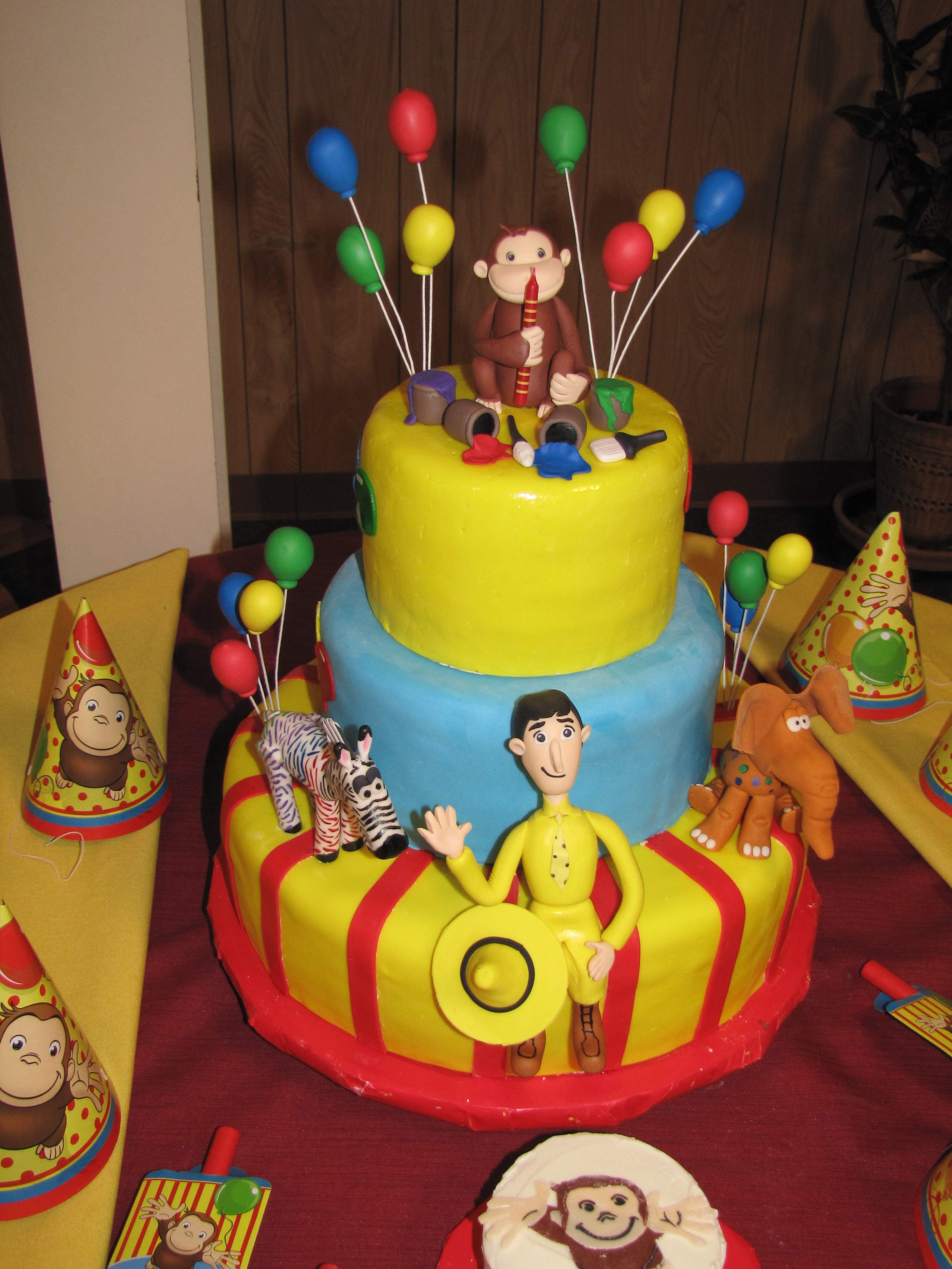 Best Curious George Cakes – Decoration Ideas Little Birthday This Month