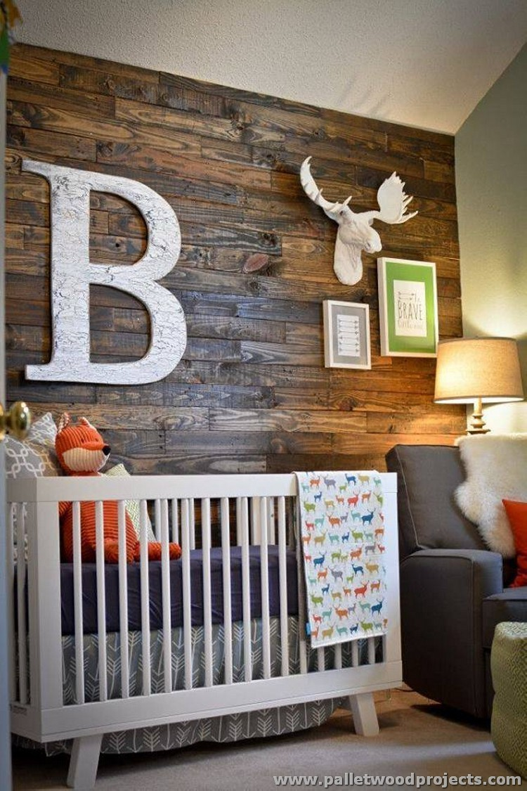 Best Accent Wall Made Out Of Pallets Pallet Wood Projects This Month