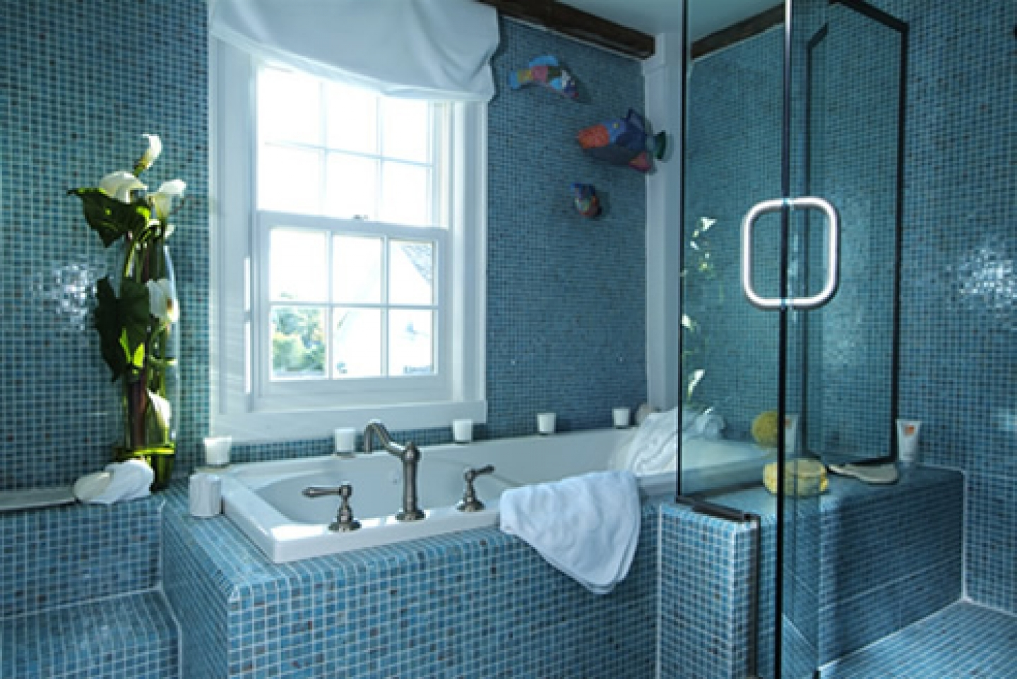 Best 40 Vintage Blue Bathroom Tiles Ideas And Pictures This Month
