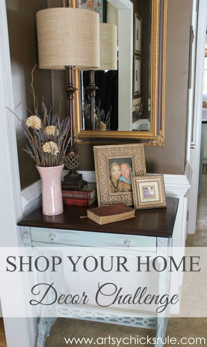 Best A Decorating Challenge Shop Your Home Foyer Part 2 This Month