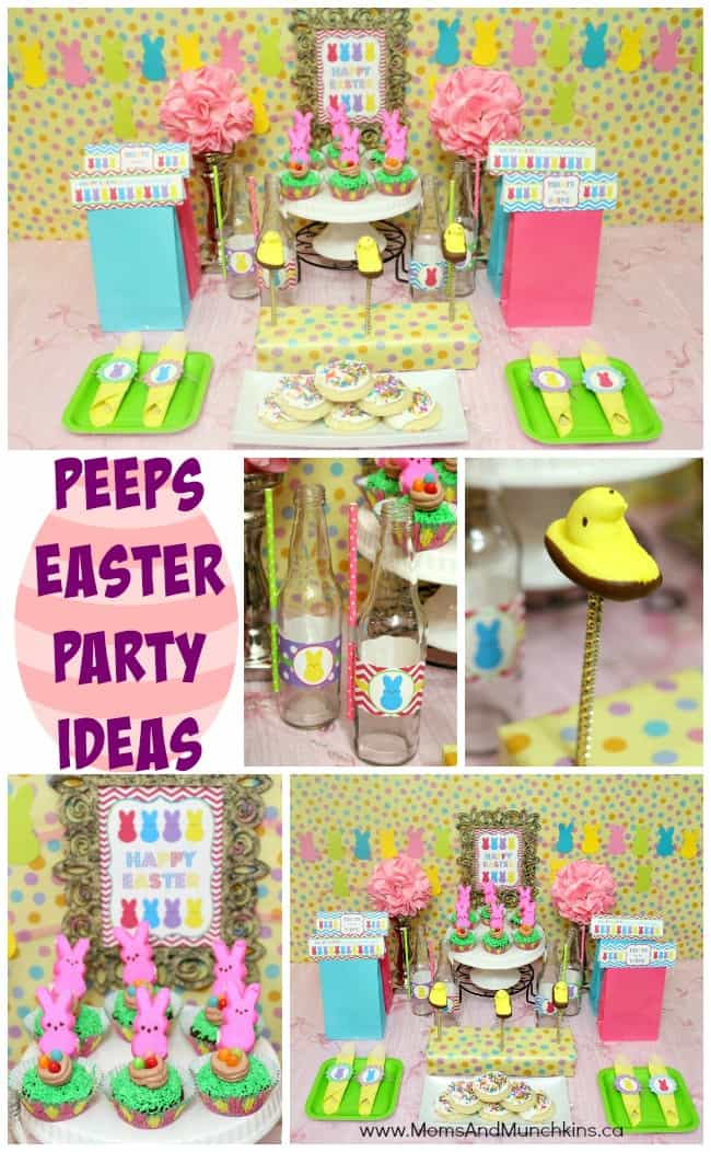 Best Peeps Easter Party Ideas Moms Munchkins This Month