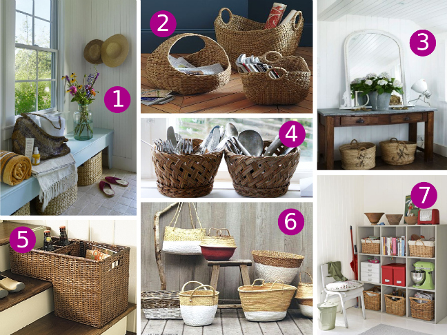Best Decorating With Baskets This Month