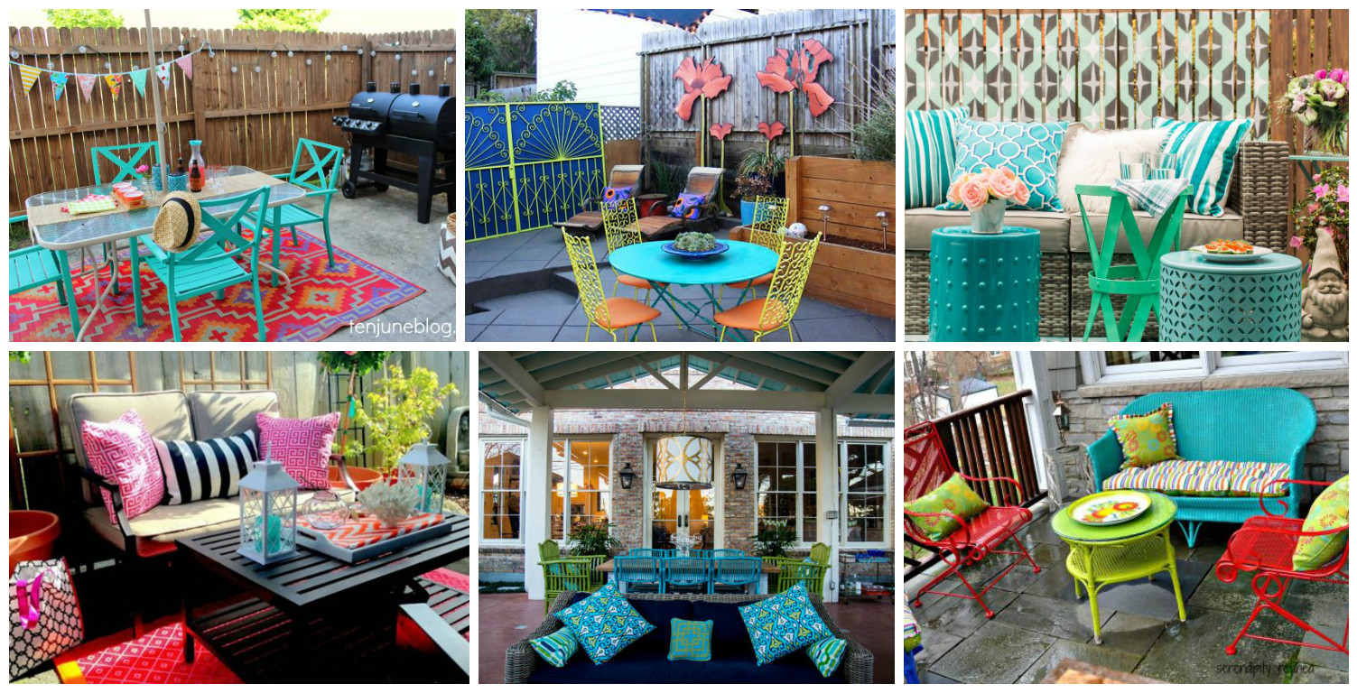 Best 13 Colorful And Youthful Patio Decorating Ideas That Will This Month