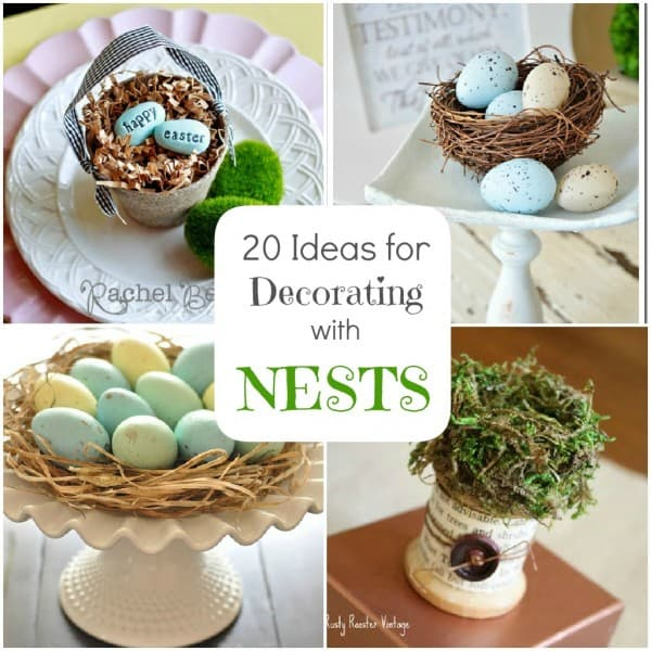 Best Spring Decorating 20 Ideas For Bird Nest Decor This Month