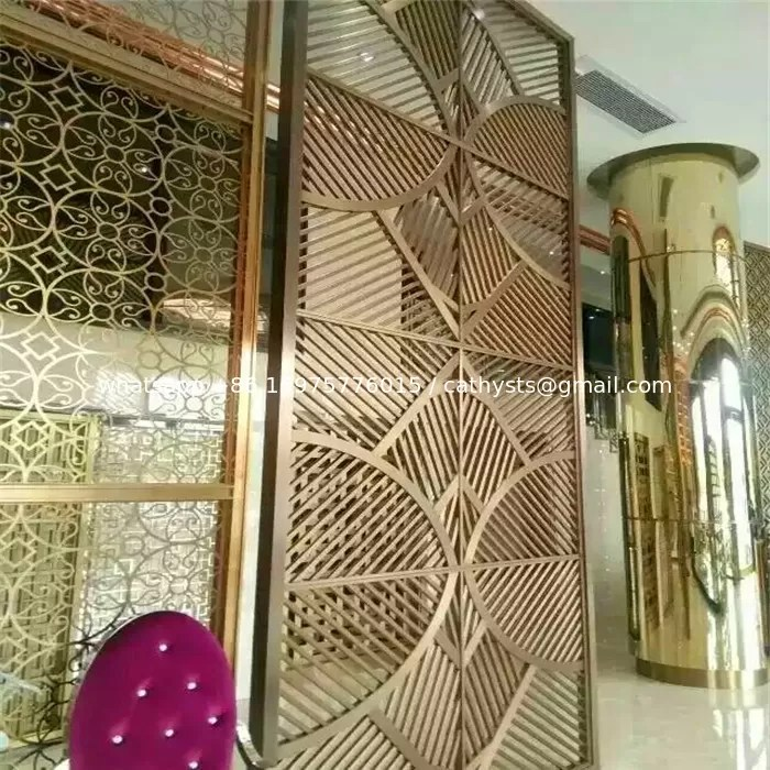 Best Furniture Metal Work Custom Stainless Steel Partition Wall This Month