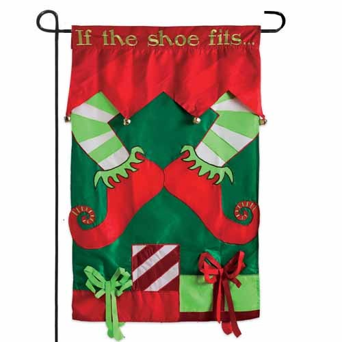 Best If The Elf Shoe Fits Garden Flag Garden Flags On Sale This Month