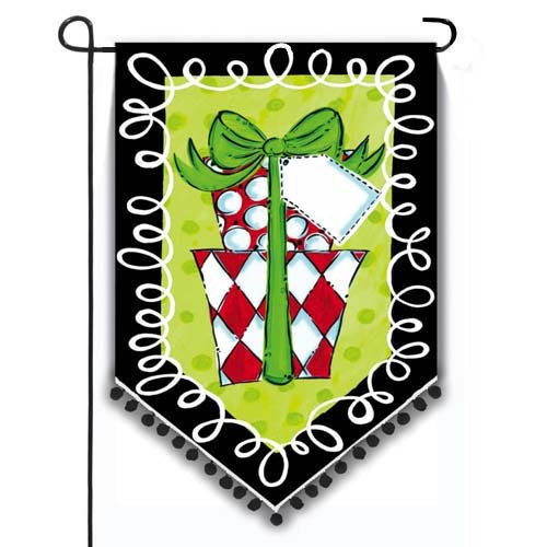 Best Polka Dot Presents Garden Flag Flags On Sale Clearance This Month