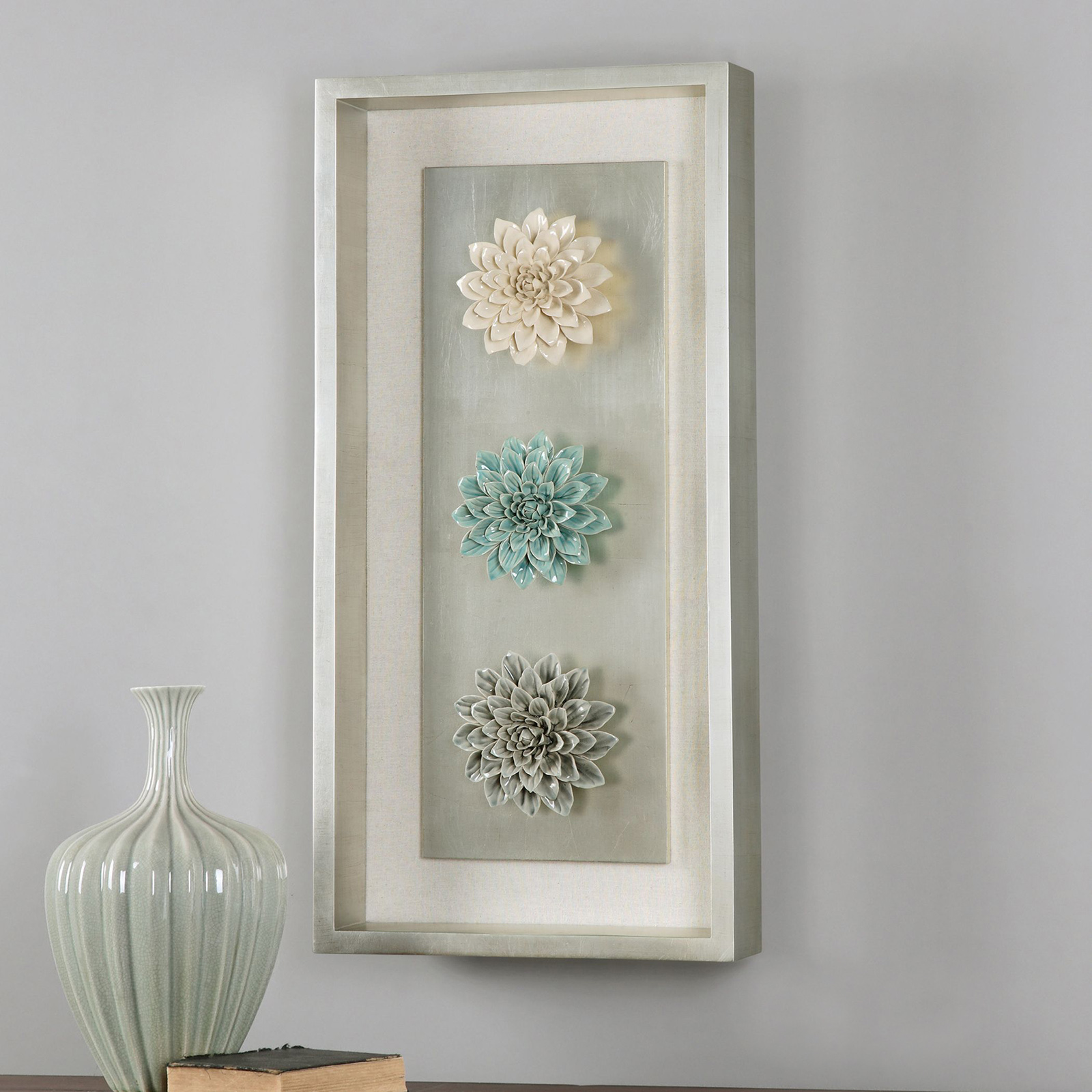 Best Uttermost Florenza Framed Wall Art 17W X 35H In Wall This Month