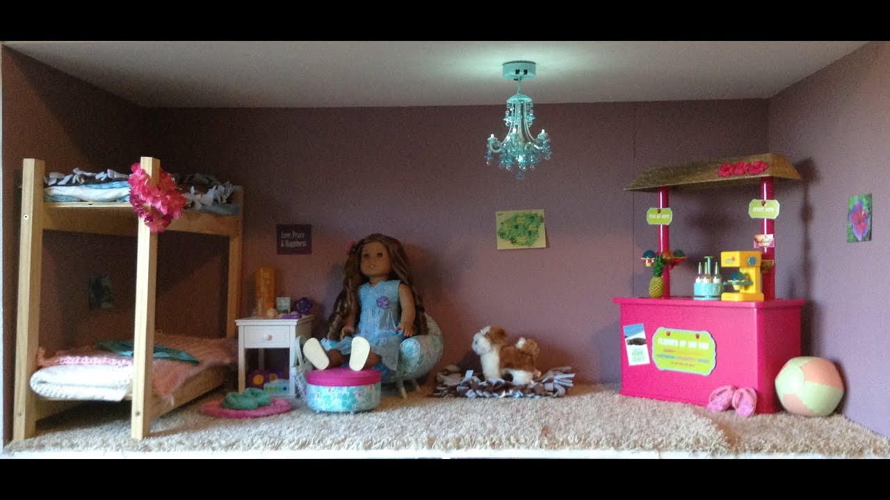 Best American Girl Kanani S Bedroom Youtube This Month