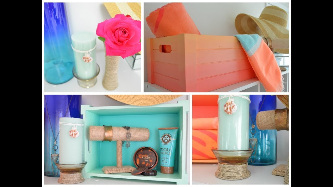 Best Diy Summer Room Decor Ideas Youtube This Month