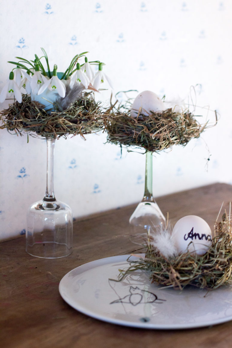 Best 12 Cute Diy Bird Nest Decorations For Easter Shelterness This Month
