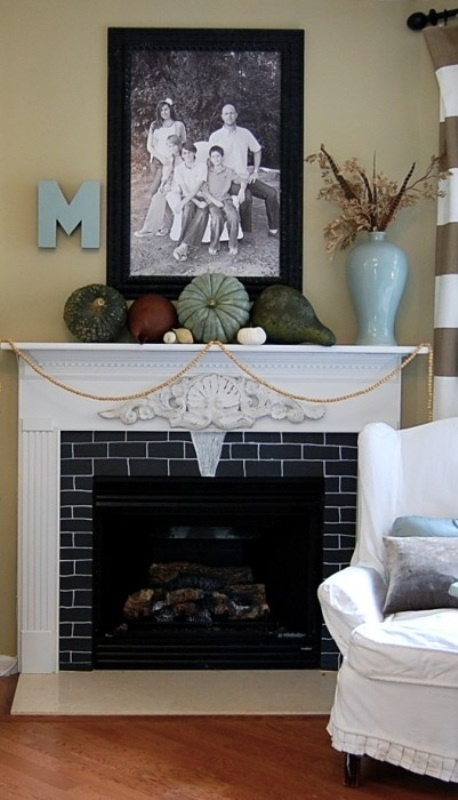 Best 87 Exciting Fall Mantel Décor Ideas Shelterness This Month