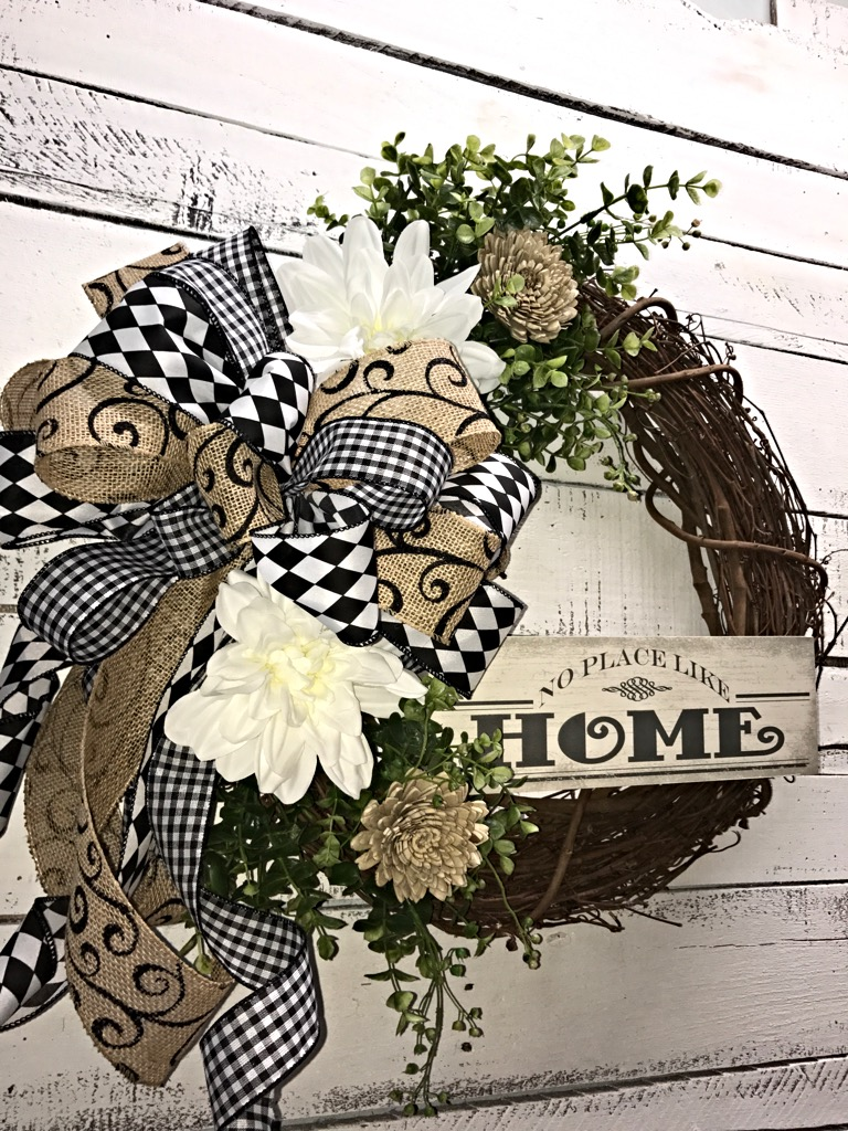 Best Front Door Wreath All Season Wreath Everyday Wreath This Month