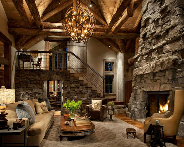 Best 40 Awesome Rustic Living Room Decorating Ideas Decoholic This Month
