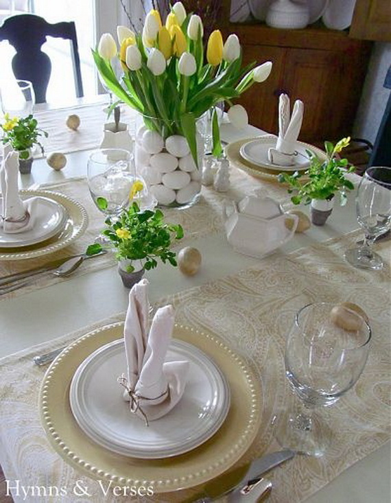 Best 60 Easter Table Decorations Decoholic This Month