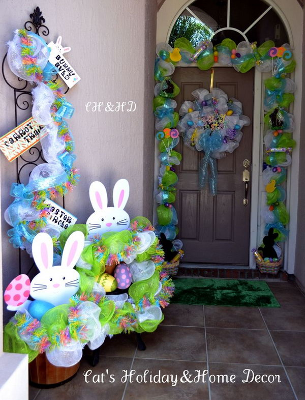 Best Creative Easter Outdoor Decoration Ideas Hative This Month