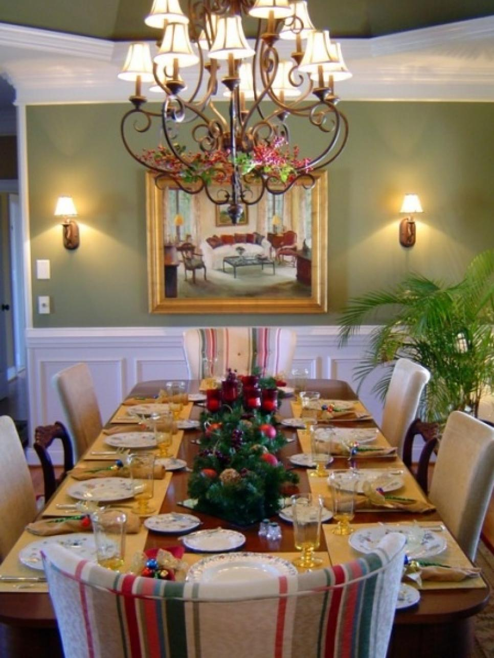 Best 28 Christmas Table Decorations Settings Hgtv This Month