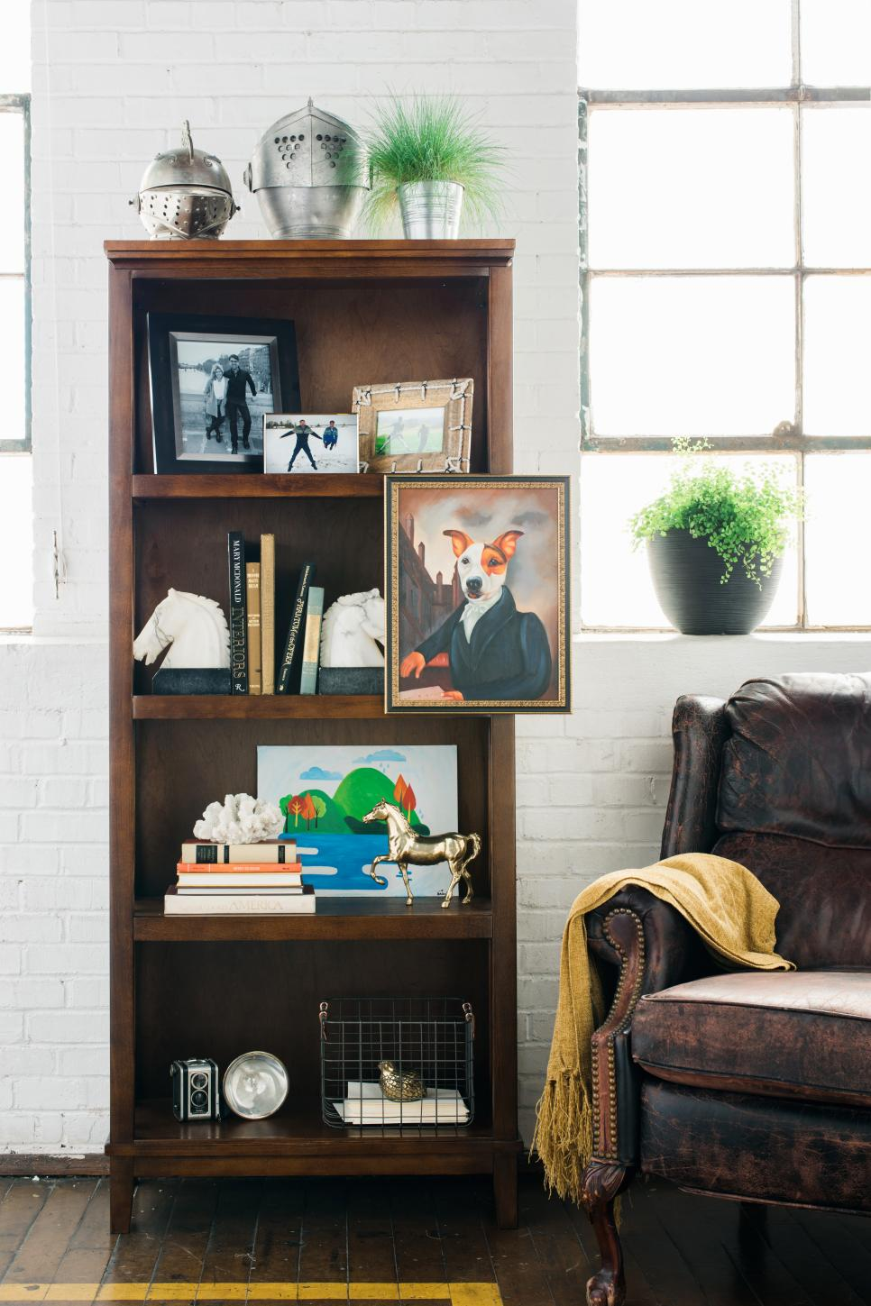 Best How To Style A Bookshelf Bookshelf Styling Tips One This Month