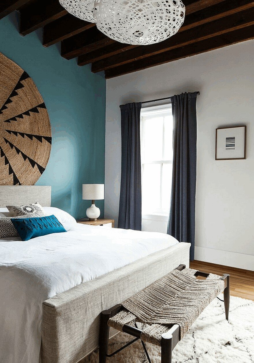 Best Urban Loft Apartment In Jersey City Enriched With Color This Month