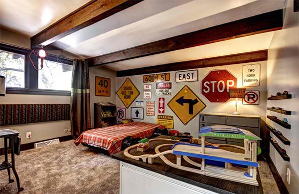 Best Zoom With Style In 20 Car Themed Bedroom For Your Boys This Month