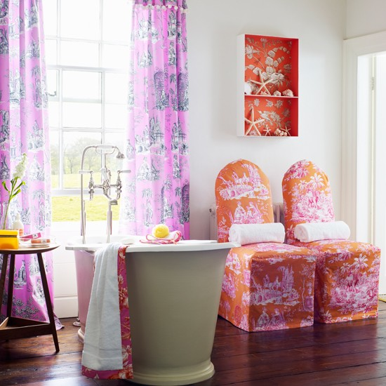 Best Bright Pink And Red Bathroom Bathroom Decorating Ideas This Month