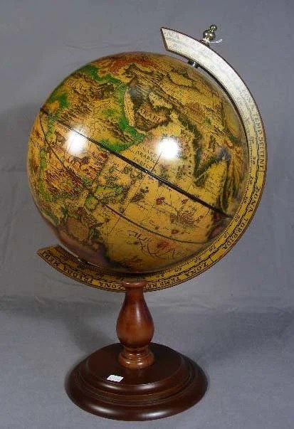 Best 31 Decorative World Globe On Wooden Stand Lot 31 This Month