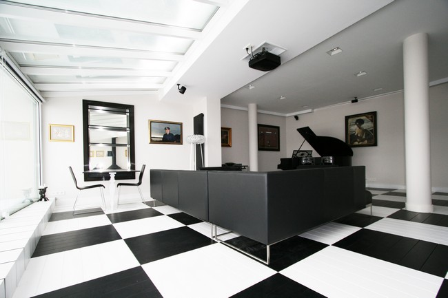 Best Black And White Office By Toya Design This Month