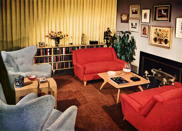 Best A Look At 1950′S Interior Design Art Nectar This Month