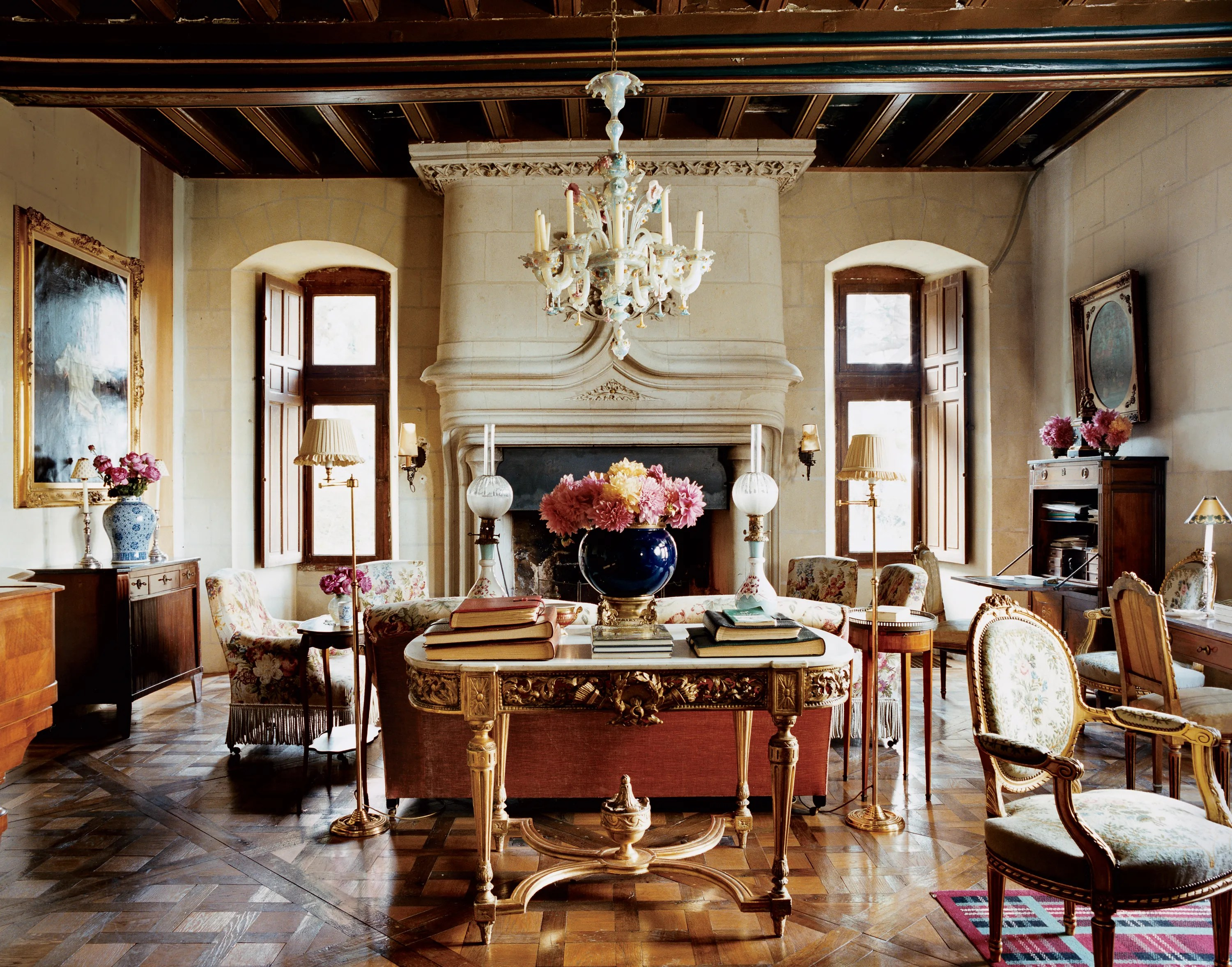 Best The Most Beautiful Living Rooms In Vogue Vogue This Month