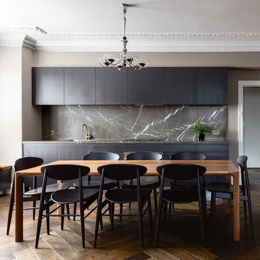 Best Solutions Black Kitchens Elle Decoration Uk This Month
