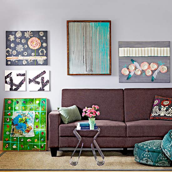 Best 14 Easy Canvas Wall Art Projects Better Homes Gardens This Month