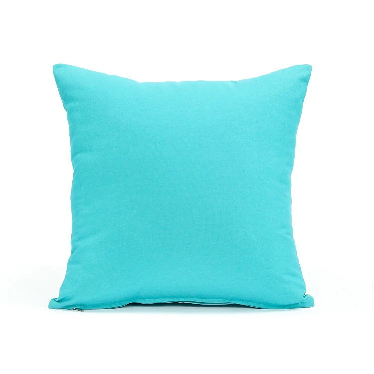 Best 20 X 20 Solid Aqua Blue Throw Pillow Cover By Bhdecor On Etsy This Month