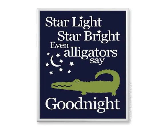 Best Alligator Nursery Decor Navy And Green Boys By This Month