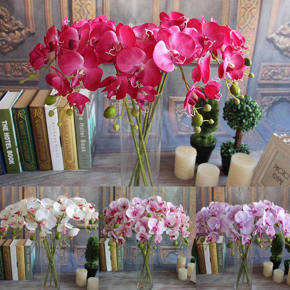 Best Artificial Plants Simulation Decorative Butterfly Orchid This Month
