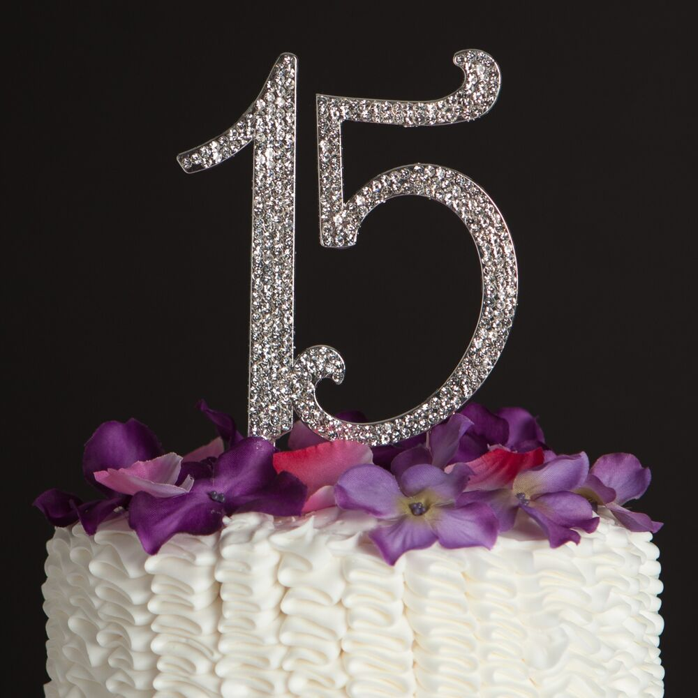 Best 15 Birthday Cake Topper 15Th Quinceanera Party This Month