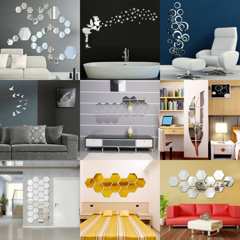 Best 3D Mirror Floar Art Vinyl Removable Wall Sticker Acrylic This Month